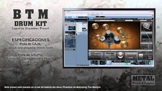 Betraying The Martyrs Drum Kit (Superior Drummer Preset)