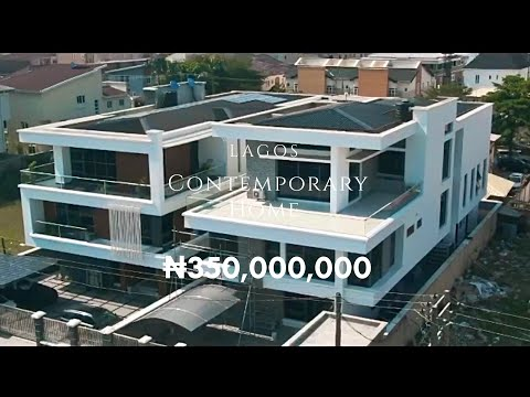 SEE THIS: A Contemporary ₦350million Mansion in Lagos, Nigeria.