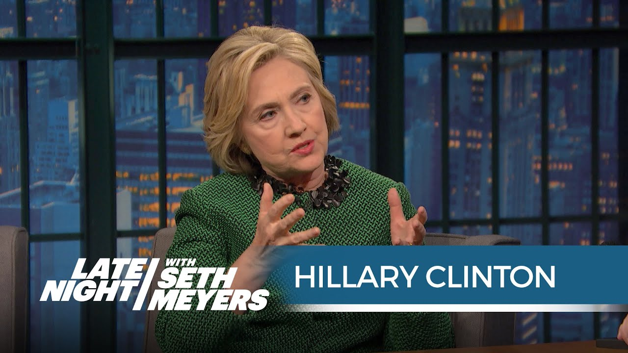 Hillary Clinton on Gun Control - Late Night with Seth Meyers
