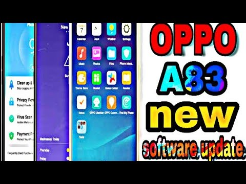 OPPO A83 Phone New Software Update