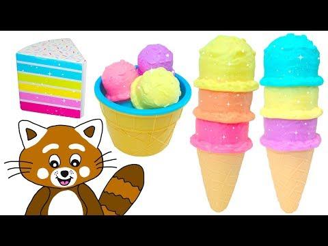 Pukkins Glasstårta - Lek Och Lär Dig Färger - Lek Med Oss