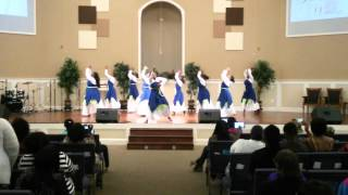 Broken- Shekinah Glory-Dancing with A Purpose - Dance Ministry