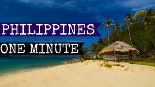 BEST TRAVEL | The Philippines in one minute 2015 FULL HD