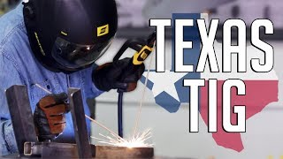 🔥 Texas TIG Welding (Stick Welding with 2 Electrodes)