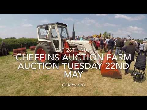 CHEFFINS AUCTION FARM AUCTION TUESDAY 22ND MAY
