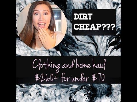 Clothing Haul // Dirt Cheap!! (: #bargains