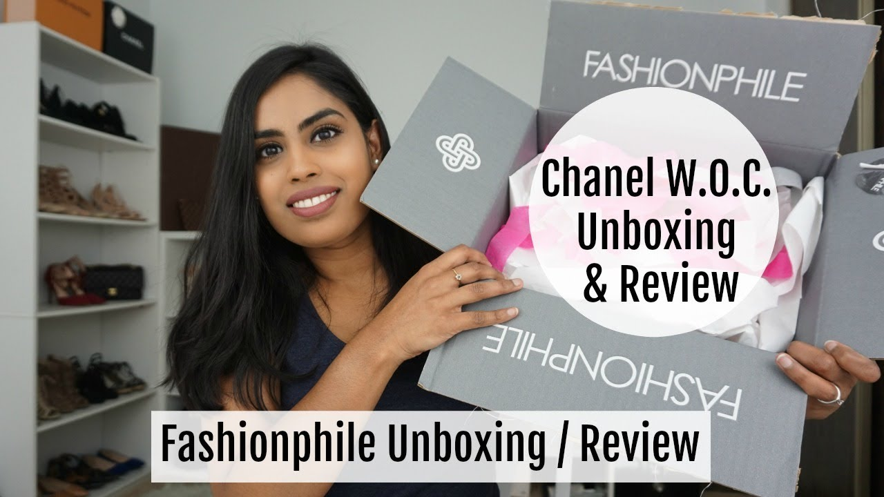 15e76d842b107d Chanel W.O.C. Reveal | Fashionphile Unboxing / Reveal + Review | Samadhi  Herath