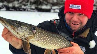 Рыбалка на Москва Реке в Феврале Душевный выезд