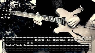 Something - The Beatles  ( Guitar Solo Tab Tutorial ) | Jorge Orellana