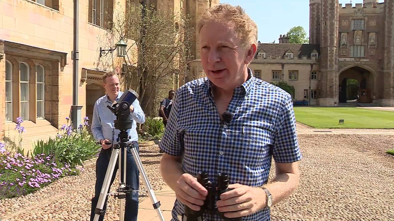 ITV Anglia Report on Trinity's Mercury Viewing with Dr ...
