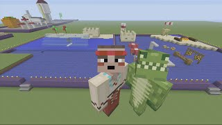 Minecraft Xbox 360 - Build it for a Biscuit Challenge - Summer Holiday