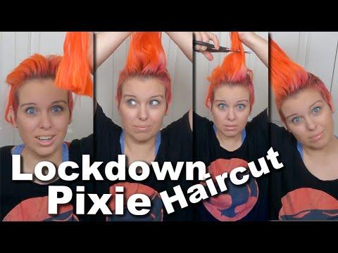 Quarantine Haircut with Drastic Final Color Change