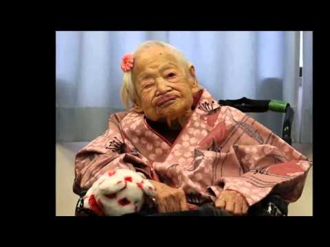 World's Oldest Person Misao Okawa Wonders about Secret to Longevity Too