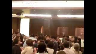 「双大竜を励ます会」双大竜関退場 2013年6月8日 三瓶宏志 検索動画 19