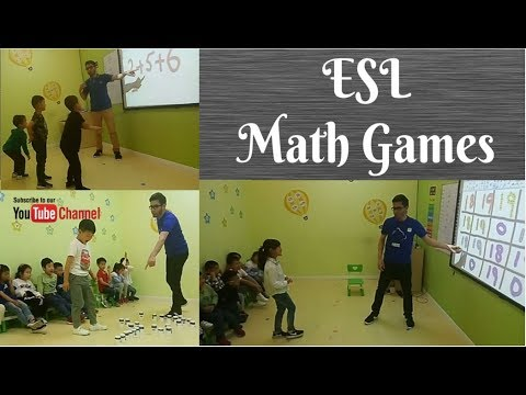 193 - ESL Math Games| ESL Game For Numbers | Addition Games| Muxi's ESL Games.