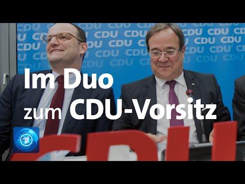Pressekonferenz zum CDU-Parteivorsitz