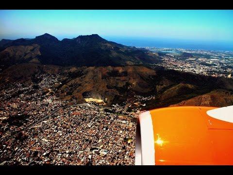 GOL Linhas Aéreas Inteligentes Scenic Flight: G3 1706  São Paulo to Rio de Janeiro