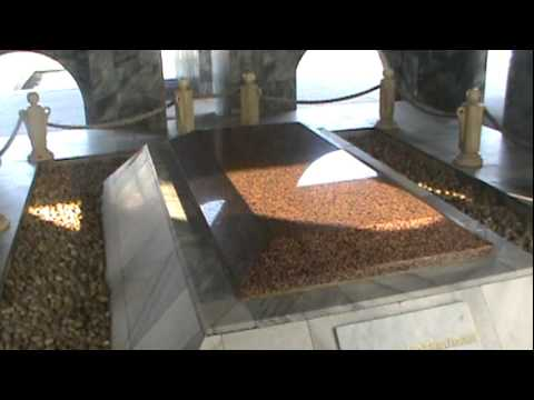 The tomb of Dr. Kwame Nkrumah