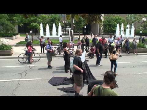 Enbridge Pipeline Hijackers Block Traffic in Downtown Toronto...