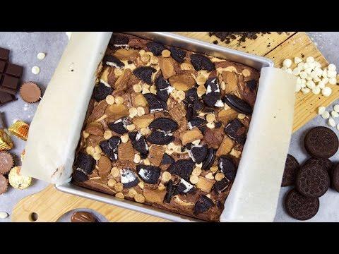 recette-des-ultimate-brownies-(nutella,-beurre-de-cacahuète,-oreo)---william's-kitchen