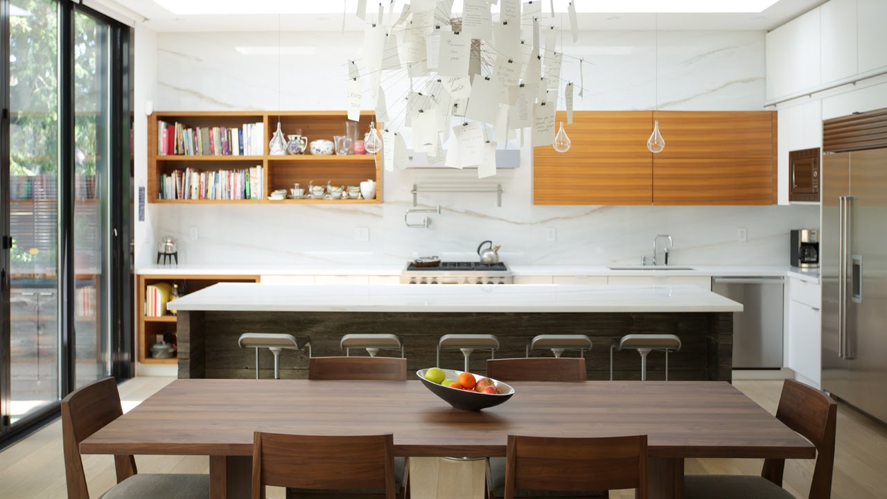interior design — how to design a modern open-concept kitchen