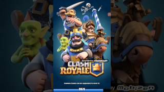 I play on acountu from my brother (Clash Royale)
