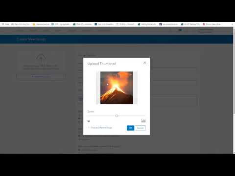 Creating Groups and Sharing in ArcGIS Online