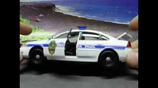 Custom 1:32 Honolulu HI Police Department diecast w/ working strobes!