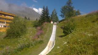 Summer Sled at Alpe d
