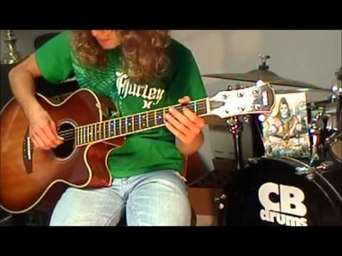 How To Play Up On Cripple Creek By The Band Tutorial Youtube
