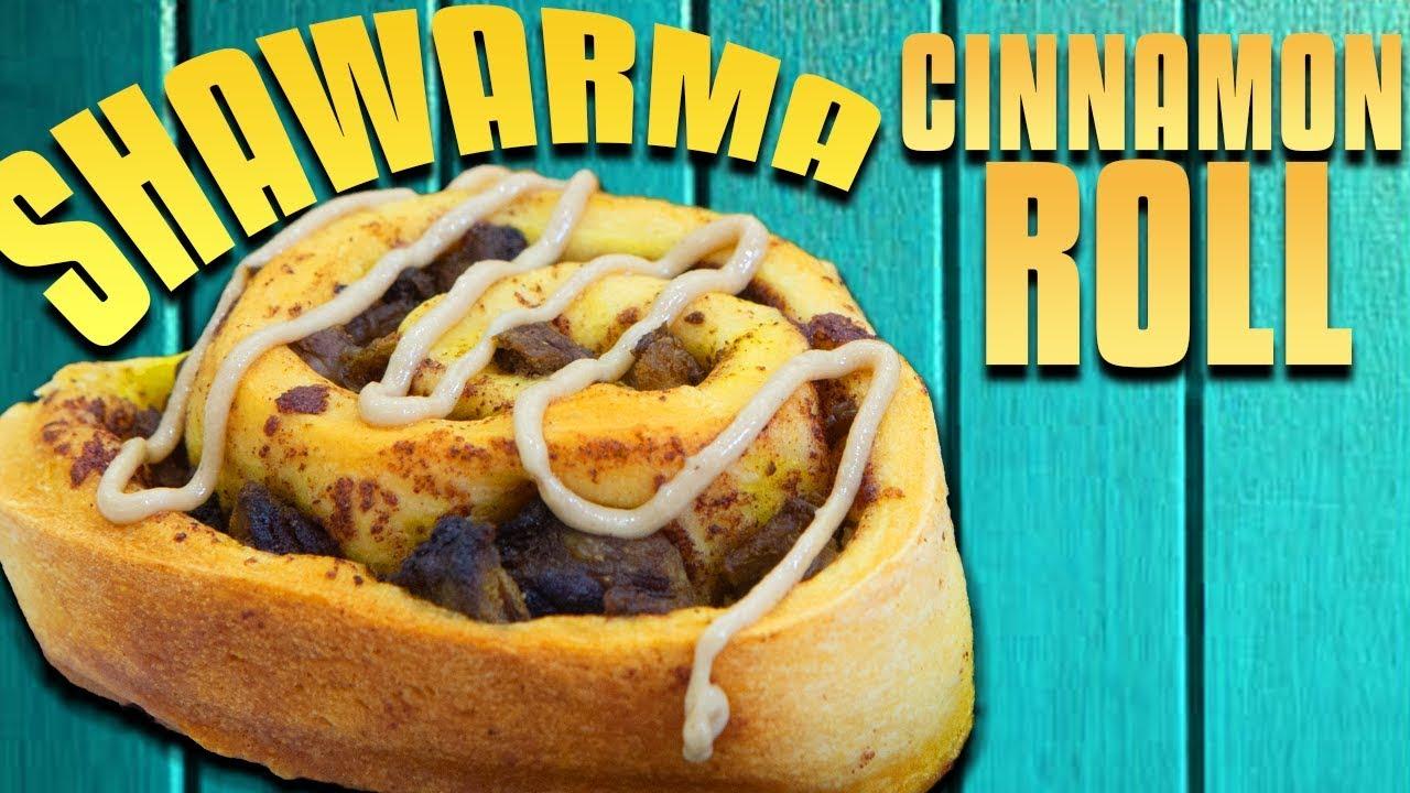 Shawarma Cinnamon Roll