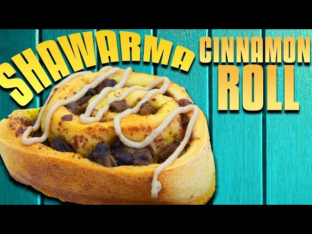 Shawarma Cinnamon Roll - Handle it