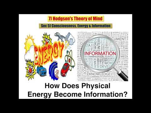 Sec 5 Consciousness, Energy & Information