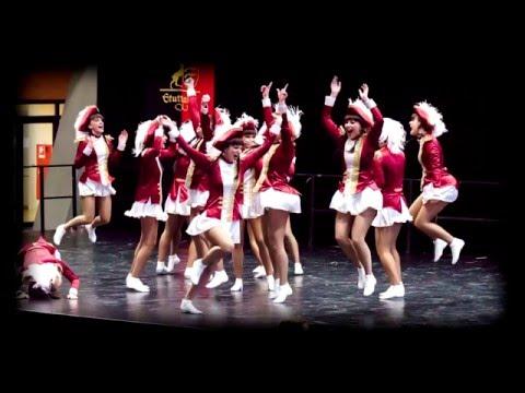 45. Deutsche Meisterschaft im karnevalistischen Tanzsport 2016 - Intro Eröffnungsfeier Sonntag