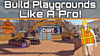 7 Ways To Build PLAYGROUNDS Events Like A Pro In DIRT 5!