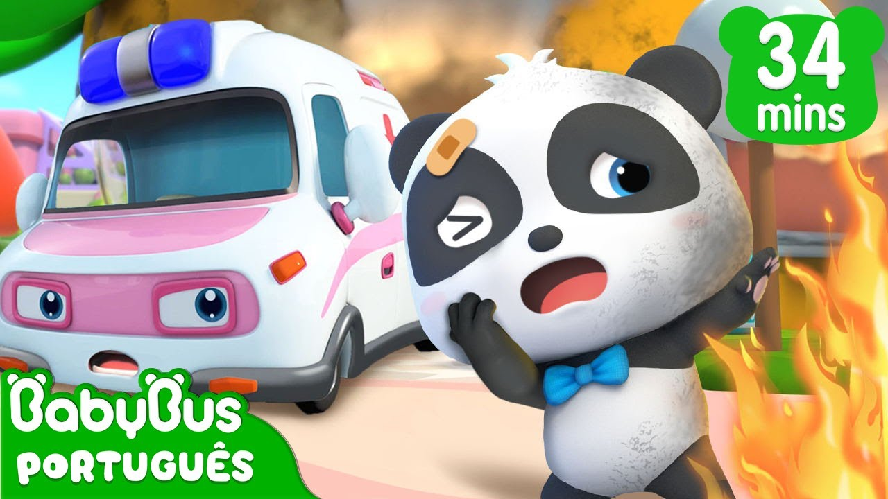 Super Ambulância ao Resgate  🚑 | Desenho Infantil | Música Infantil | BabyBus Português