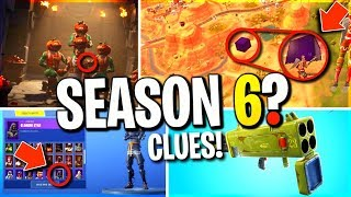 SEASON 6 SOON? ALL NEW LEAKED SKINS! LIGHTNING CUBE! TOMATO HEAD THEORY...