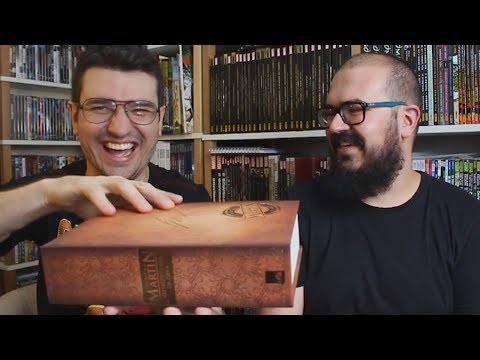 MAIOR LIVRO! Para fãs de George Martin e Game of Thrones | Vlog do PN #225