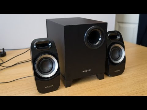Creative T3300 Speakers Review