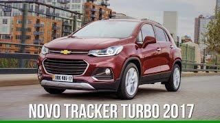 Chevrolet mostra novo Tracker 2017 para o Brasil