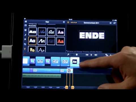 11 Avid Studio iPad Titel erstellen und anpassen