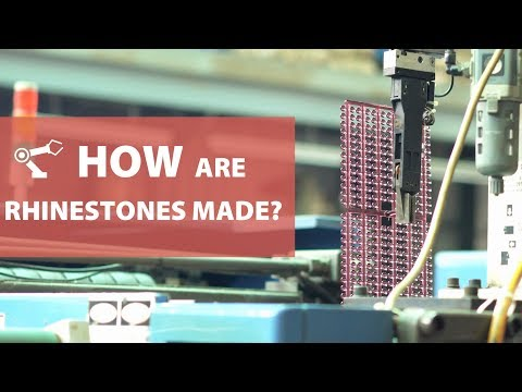 How to Make Rhinestones? How Are Rhinestones Made?