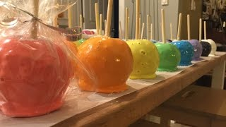 MAKING CANDY APPLES FROM COOKIES CUPCAKES AND CARDIO RECIPE
