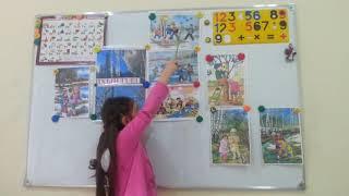 Фрагмент занятия в группе обучения разговорному осетинскому языку учеников 1 4 классов