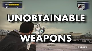 Dead Rising - Unobtainable Weapons
