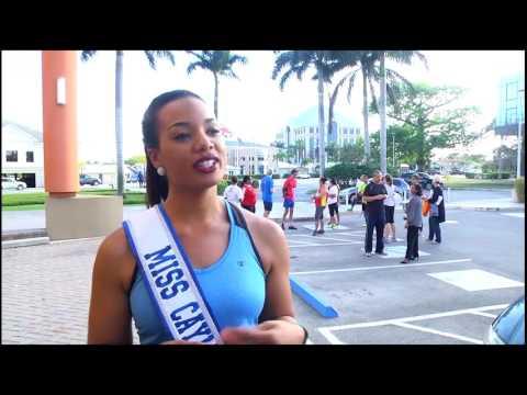 Miss Cayman Islands supports DG's 5k Challenge