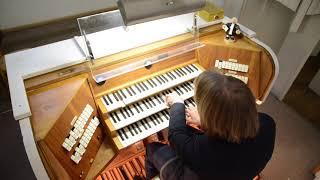 Stephane Mottoul BWV 655 Herr Jesu Christ, dich zu uns wend'  JS Bach Universitätskirche Freiburg