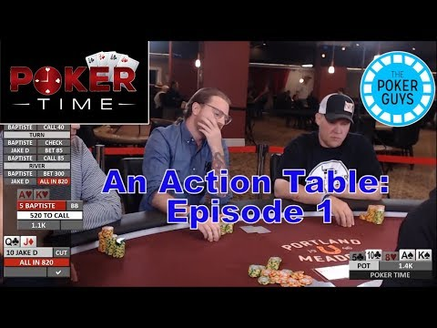 Poker Time: A New Poker TV Show...FIRST EPISODE! (S1, E1)