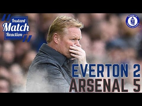 A New Low For Koeman | Everton 2-5 Arsenal
