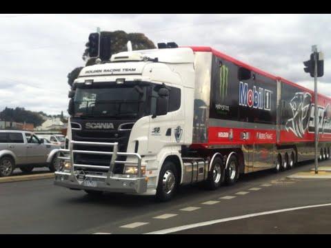 V8 Supercars Truck Parade Launceston 2015.